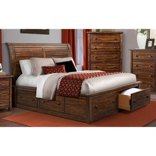 Carbon Loft Plumas Storage Bed