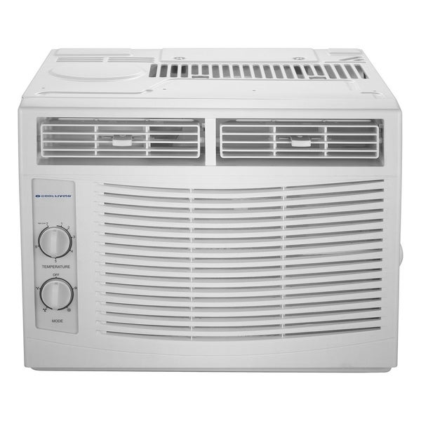 Cool-Living 5,000 BTU Window Air Conditioner - White 33286491
