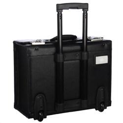 Amerileather Black Wheeled Catalog Case