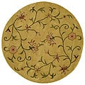Hand-tufted Autumn Wool Rug (6' Round)