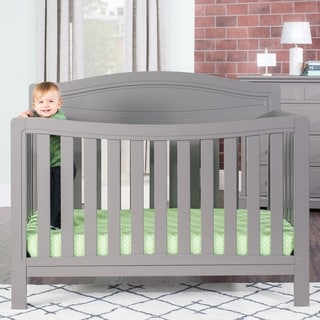 Dresden 4-in-1 Convertible Crib - Cool Gray