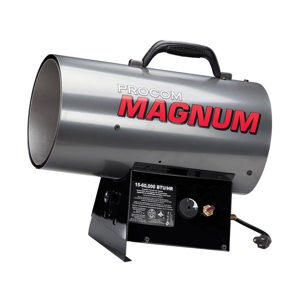ProCom Portable Propane Gas Forced Air Construction Heater  60,000 BTU 33348503