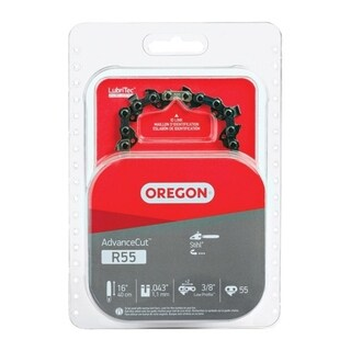 Oregon  Replacement Chainsaw Chain  16 in. 55  For Stihl 33349455
