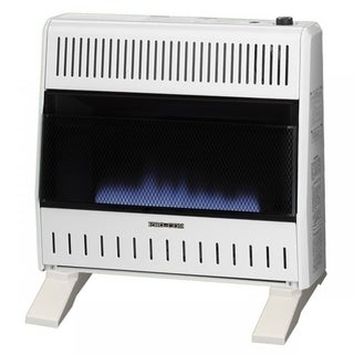 ProCom Dual Fuel Ventless Blue Flame Heater - 30,000 BTU, Model MNSD300TBA-BB