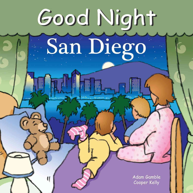Good Night San Diego (Board book)