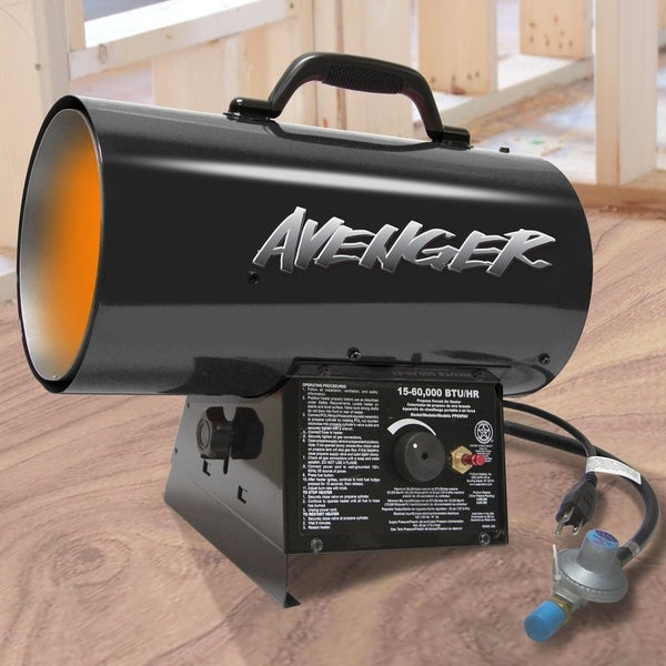 Avenger Portable Forced Air Propane Heater - 60,000 BTU 33397157