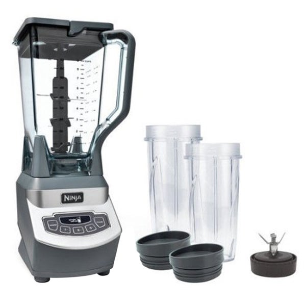 Refurbished Ninja Professional Blender with Nutri Ninja Cups 33417639