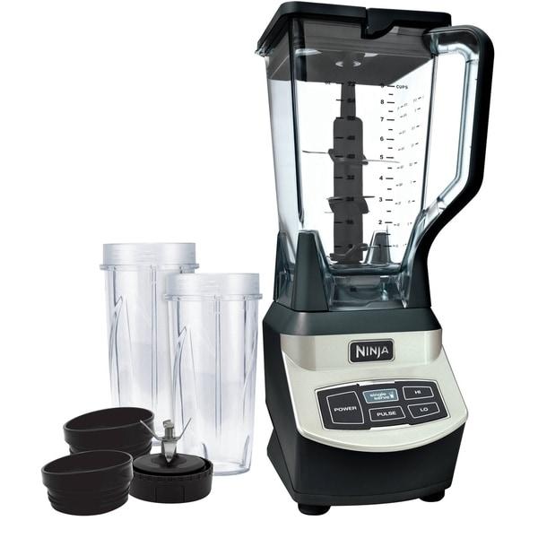 Refurbished Ninja Professional Blender with Single Serve Cups 33417648