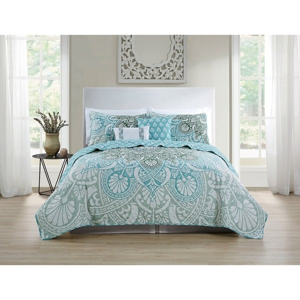 VCNY Home Tory 5-piece Quilt Set 33450127