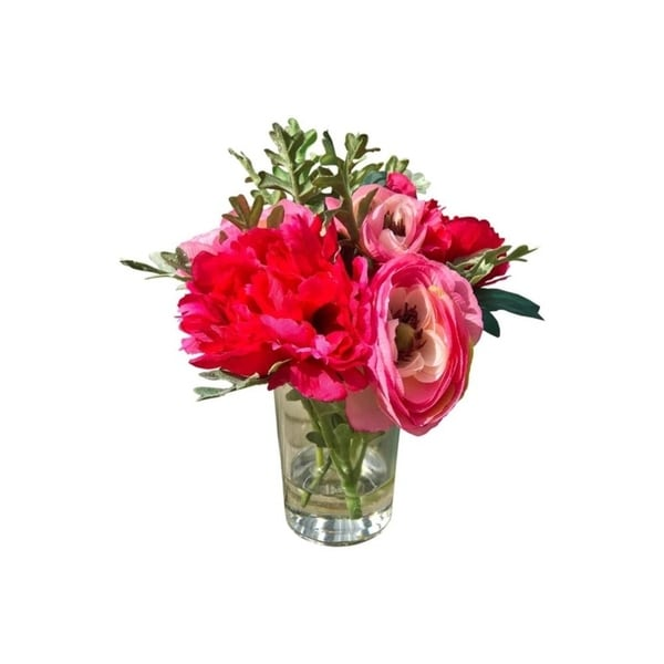Faux garden cut flower arrangement 33459840