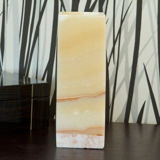 Large Rectangular Alabaster Lamp (Egypt)
