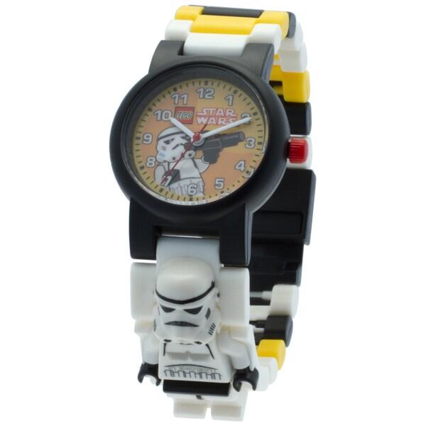 LEGO Star Wars Stormtrooper Kid's Interchangeable Links Minifigure Watch 33520971