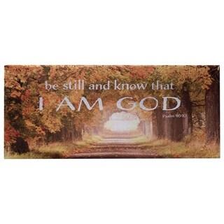 American Art Decor Religious Inspirational Canvas Print