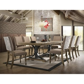 Birmingham 9-piece Dining Table Set with Removable Leaf