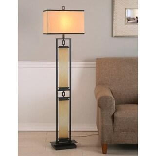 Copper Grove Fern 61-inch Oil Rubbed Bronze Floor Lamp