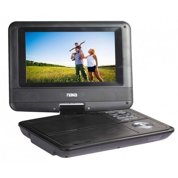 "7"" TFT LCD Swivel Screen Portable DVD Player with USB/SD/MMC Inputs 33605515"
