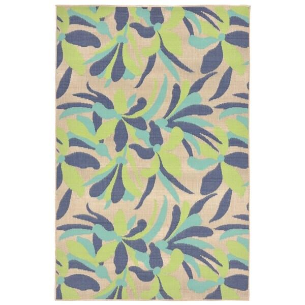 Modern Blossom Outdoor Rug (3'3 x 4'11) - 3'3 x 4'11 33607079