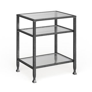 Carbon Loft Glenn Black Metal End Table