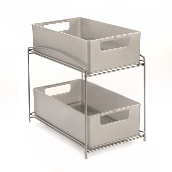 Seville Classics 2-Tier Pull-Out Sliding Drawer Kitchen Counter Organizer 33617691