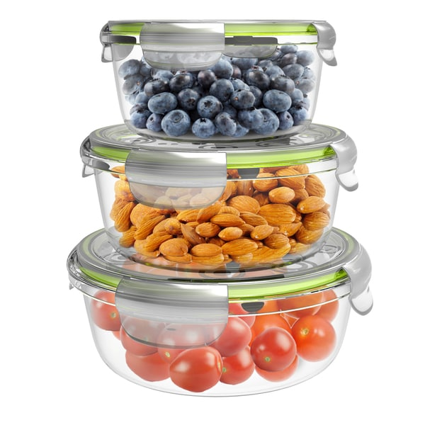 Round Set Storage Containers 33618898