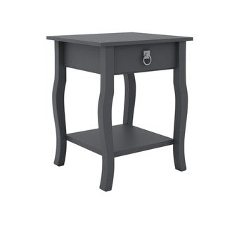 Copper Grove Sun Drop Wood 1-drawer Side Table Nightstand