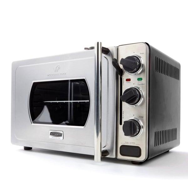Wolfgang Puck Large 29-Liter Rotisserie Pressure Oven-Black 33652101