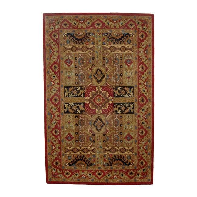 Hand-tufted Wool Ashton Rug (8' x 11')