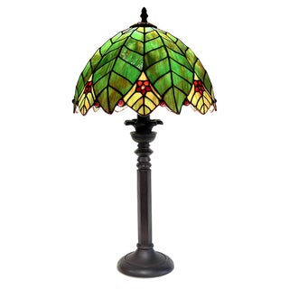 Tiffany Style Tree Shape Table Lamp