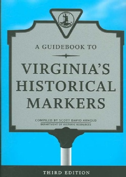 A Guidebook to Virginia's Historical Markers (Paperback)