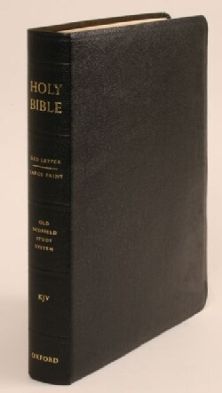 The Old Scofield Study Bible: King James Version, Black Genuine Leather (Paperback)