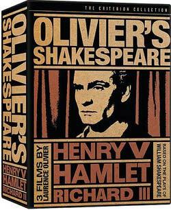 Olivier's Shakespeare Box Set (DVD)
