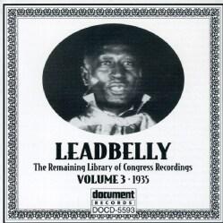 Leadbelly - Leadbelly: Vol. 3: 1935