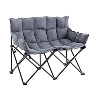 Two-Seater Sofa - Alloy