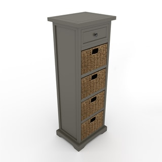 The Gray Barn Old Stone 5-drawer Accent Table