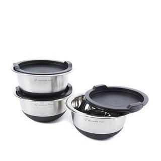 Wolfgang Puck 6-piece Non-Skid Stainless Steel Mini Mixing Bowl Set 33728935
