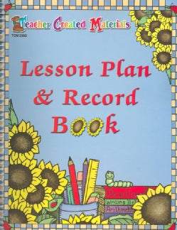 Lesson Plan & Record Book (Paperback)