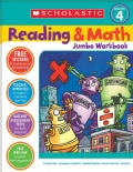 Scholastic Reading & Math Jumbo Workbook Grade 4 (Paperback)