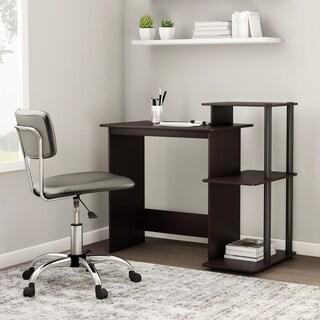 Porch & Den Baruch Efficient 3-shelf Home Laptop Computer Desk