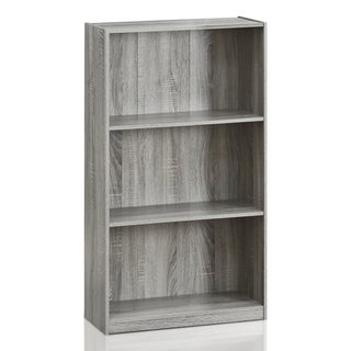 Porch & Den Chrystie Basic 3-shelf Bookcase