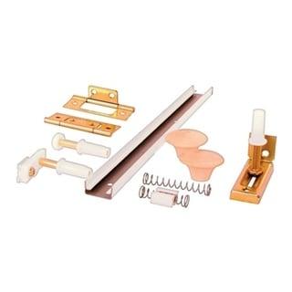 Prime-Line  Surface mount Hardware Kit  White  1 pk 33770889
