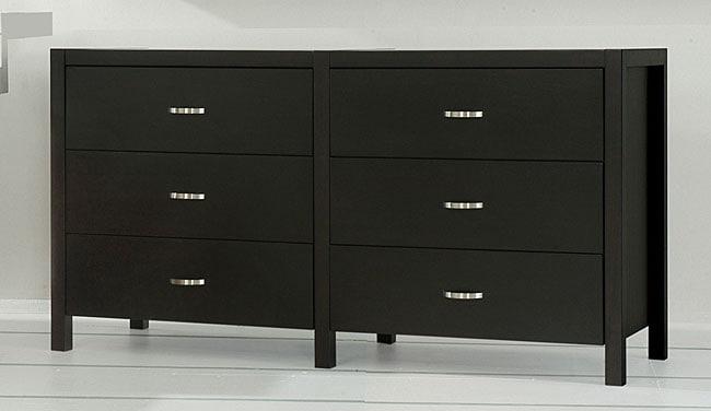 Axium Espresso 6-drawer Dresser