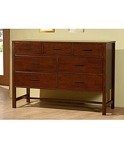 Bello Walnut Cherry 7-drawer Chest