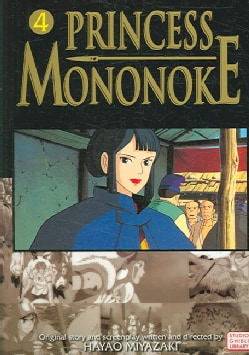 Princess Mononoke Film Comic 4 (Paperback)