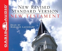 Holy Bible New Testament: New Revised Standard Version, Black Zipper Case (CD-Audio)