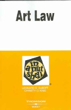 Art Law in a Nutshell (Paperback)