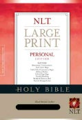 Holy Bible: New Living Translation Version, Black Bonded Leather,large Print Personal Edition (Paperback)