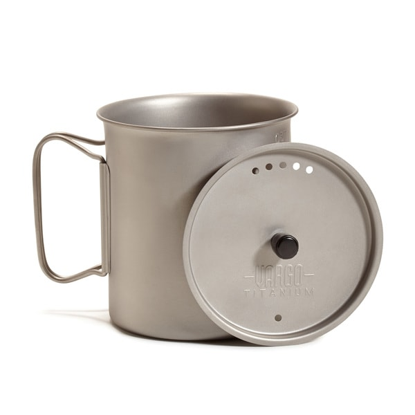 Vargo Titanium Ti-Lite Mug with Top 750 ml 33819805