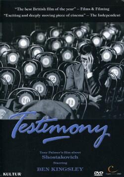 Testimony: Tony Palmer's Story of Shostakovich (DVD)