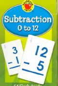 Subtraction 0 to 12 Learning Cards (Cards)