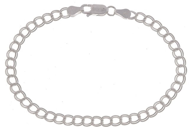 Sterling Essentials Sterling Silver 7-inch Charm Bracelet
